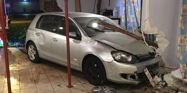 Accident spectaculaire à Mouscron: une voiture entre dans le réfectoire de la maison de repos Amadeus - La DH