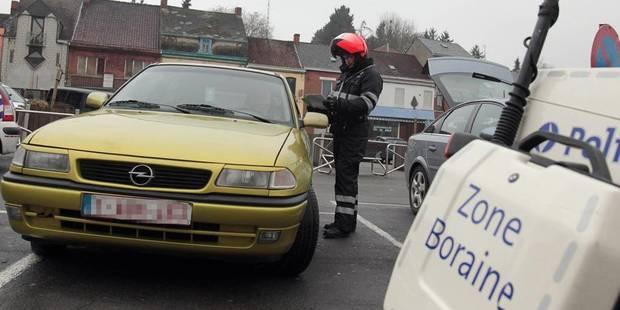 Borinage: 1.500 euros et du cannabis saisis par la police lors d'un contrôle - La DH