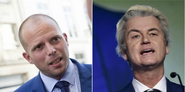 La réponse cinglante de Theo Francken à Geert Wilders - La DH