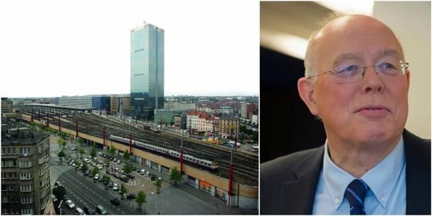 """Bruxelles: Picqué menace d'attaquer la SNCB qui """"laisse pourrir le quartier du Midi"""" - La DH"""