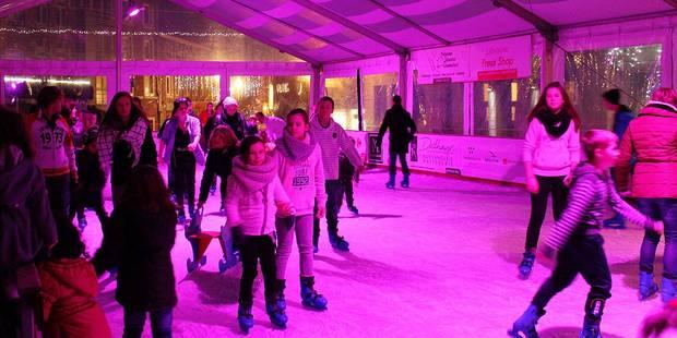 Une patinoire et un marché des artisans à Marche - La DH