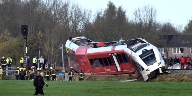 Pays-Bas : collision entre un train et un camion, plusieurs blessés - La DH
