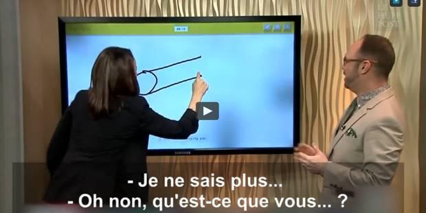 Elle veut dessiner un canon, le résultat est tout autre... (VIDEO) - La DH