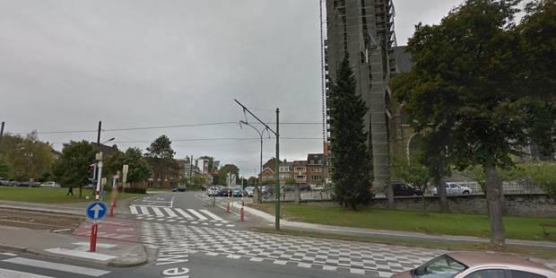 Une conductrice dans un état critique après collision avec un tram à Watermael-Boitsfort - La DH