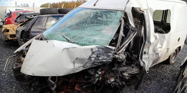 """Michaël Vilain, la victime de la collision frontale, est """"un miraculé"""" - La DH"""