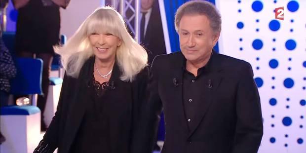Michel Drucker et sa femme, ensemble à la télévision - La DH