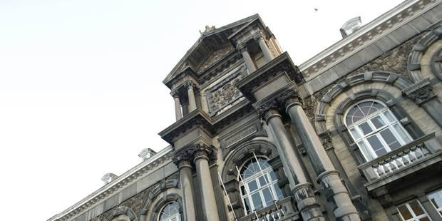 Coups de panneau devant le palais de Justice de Dinant : un blessé - La DH