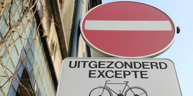 Contrôles autour des chantiers de la zone Nord: 127 conducteurs en sens interdit! - La DH