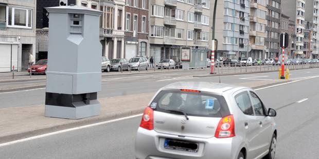 Schaerbeek: un automobiliste flashé cinq fois d'affilée dans la même rue - La DH
