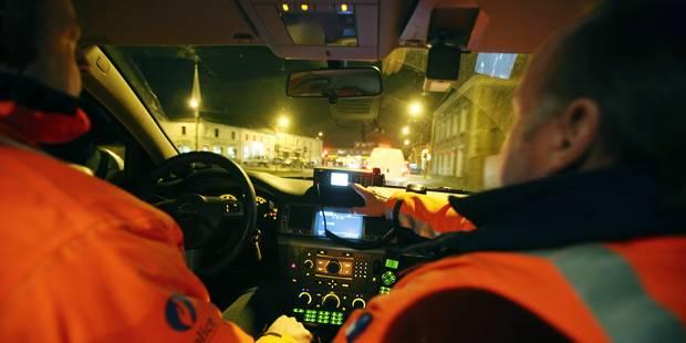 Jodoigne: ivre, un chauffard fonce sur un barrage de police - La DH