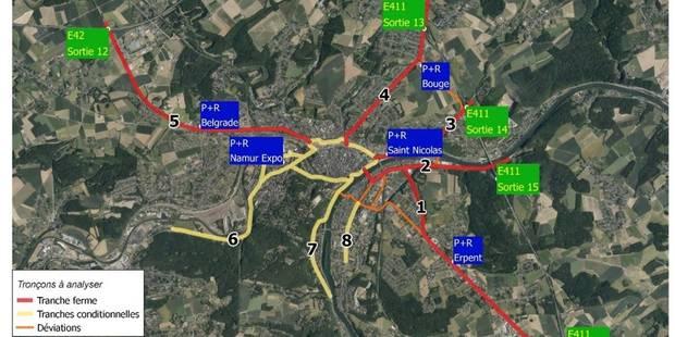 Namur à la pointe aux heures de pointe - La DH