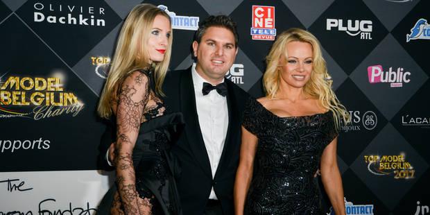 """Pamela Anderson au Top Model Belgium : """"La mode ne doit plus être cruelle"""" (PHOTOS) - La DH"""