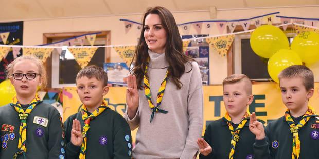 Kate Middleton, scout toujours - La DH
