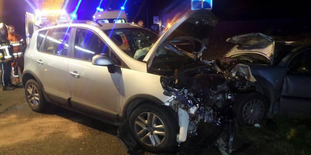 Gozée: trois blessés lors d'une collision frontale (PHOTOS) - La DH