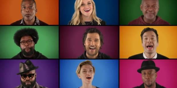 """Plusieurs stars vous chantent un """"Wonderful Christmastime"""" a cappella (VIDEO) - La DH"""
