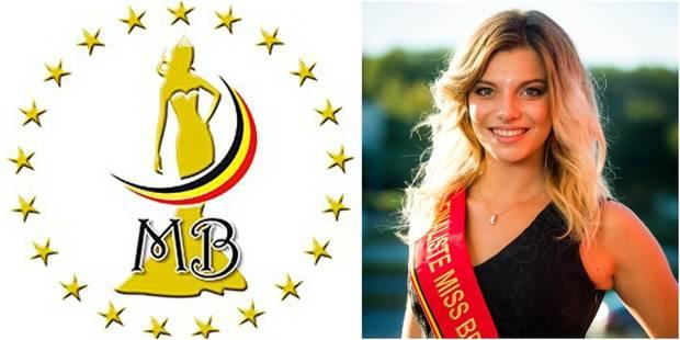 Miss Belgique: Laurie, la super miss sympathie - La DH