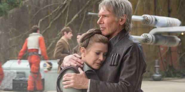 """Carrie Fisher, princesse Leïa dans """"Star Wars"""", victime d'une crise cardiaque - La DH"""
