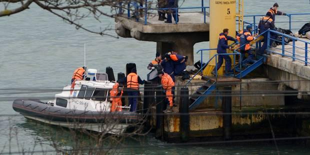 Crash en Russie: les sauveteurs fouillent la mer Noire, deuil national (IMAGES) - La DH
