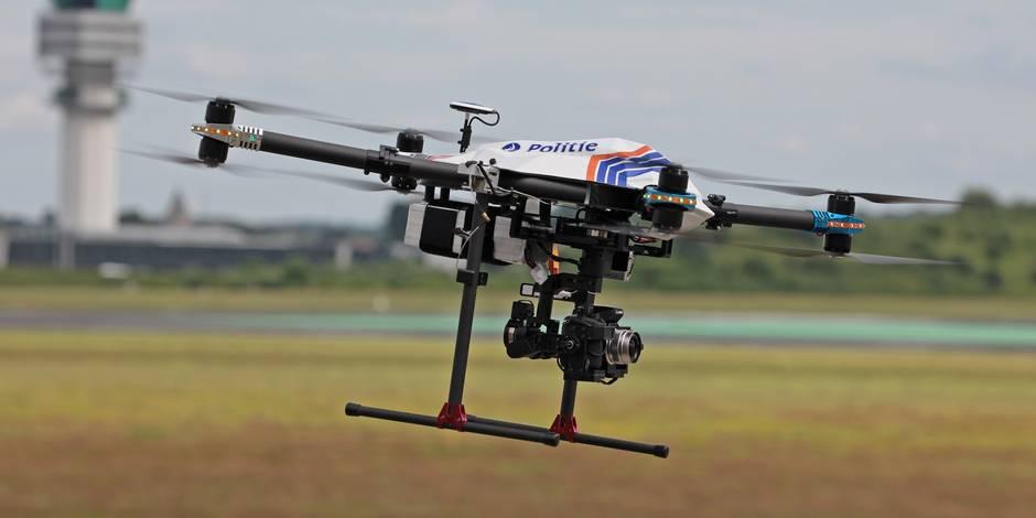 Comment la police va bientôt réduire les embouteillages grâce à un drone - La DH