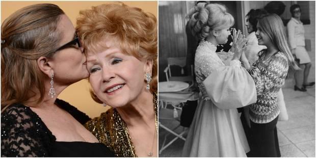 Debbie Reynolds et Carrie Fisher : mère et fille se sont tant aimées, tant déchirées - La DH