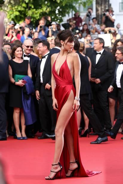 Bella Hadid à Cannes