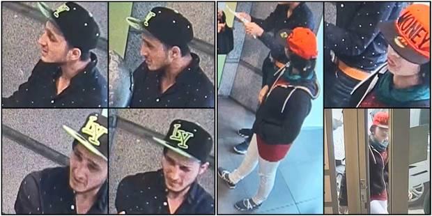 Ils volent une dame dans une banque avec une feuille de papier, les reconnaissez-vous ? (VIDEO) - La DH