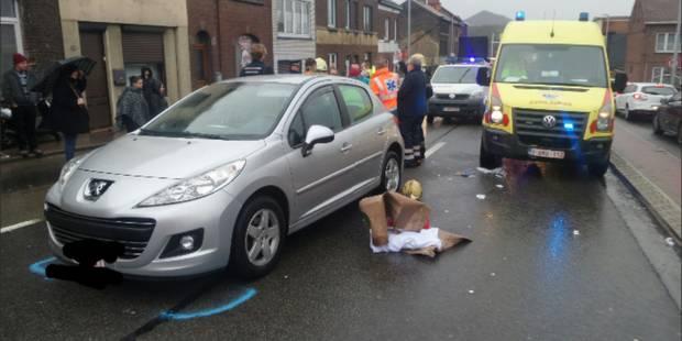 Châtelet: une dame âgée écrasée par la voiture de son mari (PHOTOS) - La DH