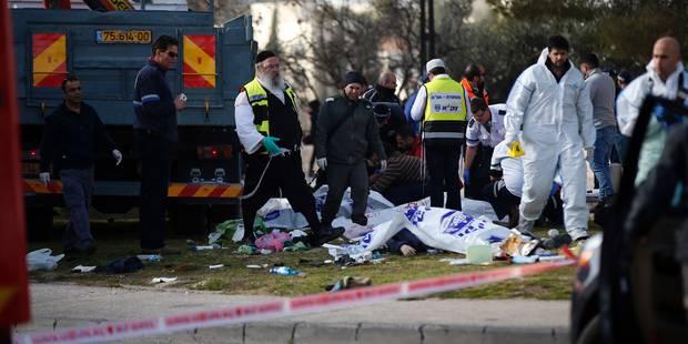 Jérusalem: un camion bélier tue 4 soldats israéliens - La DH