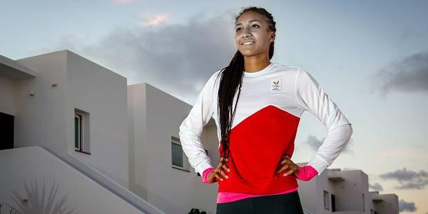 """Sportive préférée des Belges, Nafi Thiam réagit: """"Je suis flattée..."""" - La DH"""