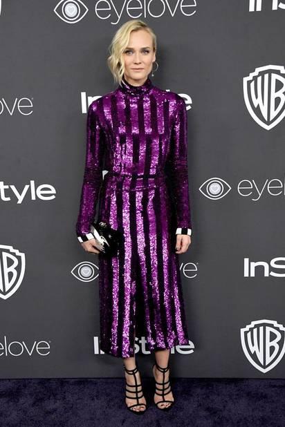 Les tops : Diane Kruger, en Nina Ricci