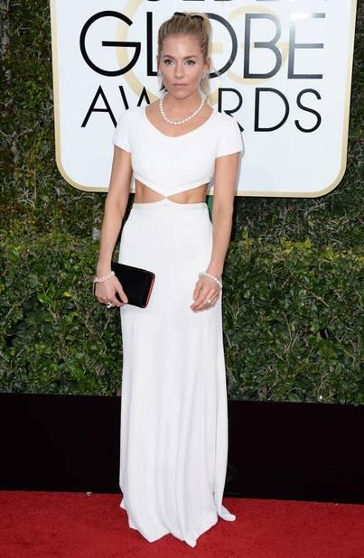 LES FLOPS : Sienna Miller, en Michael Kors