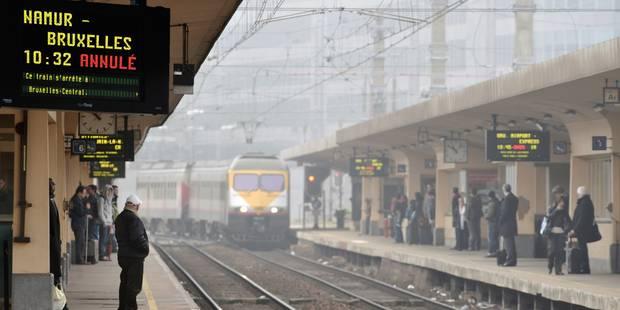 """Ponctualité des trains: des chiffres inquiétants, """"les résultats ne sont pas bons"""" reconnaît Infrabel - La DH"""