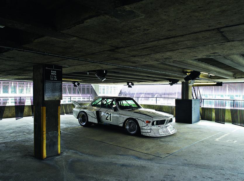1976 Frank Stella BMW 3.0 CSL