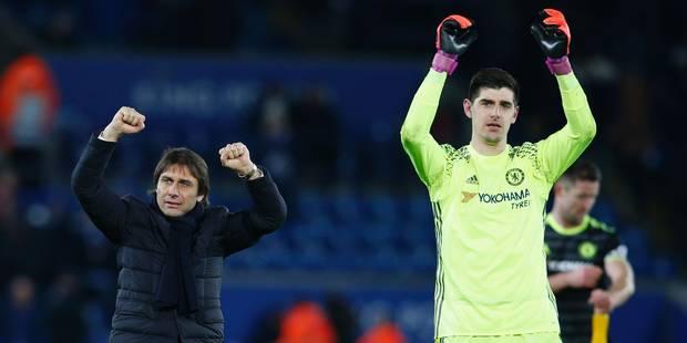 """Costa met le boxon à Chelsea, mais Courtois calme le jeu: """"On a envoyé un message à nos rivaux"""" - La DH"""
