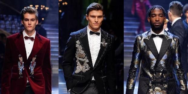 """Les """"fils de"""" défilent pour Dolce & Gabbana - La DH"""