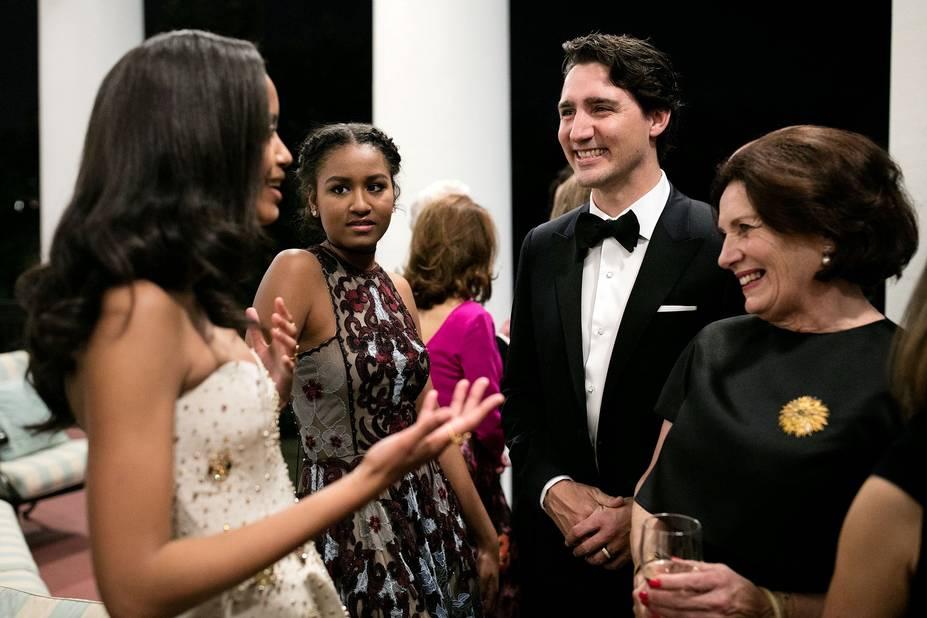 Réception à la Maison Blanche avec le premier ministre canadien Justin Trudeau, 11 mars 2016