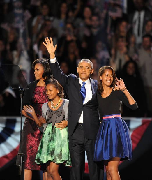 Novembre 2012, réélection de Barack Obama