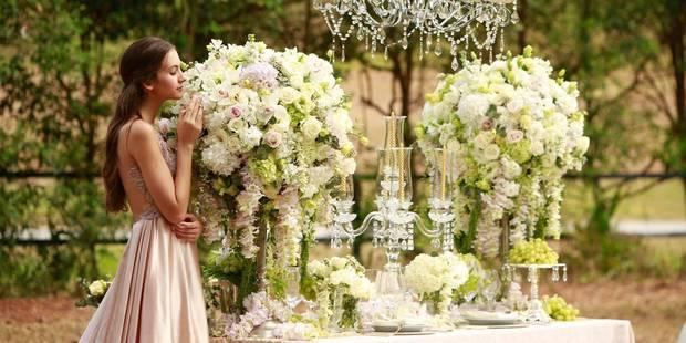 Le 10e Salon du Mariage plonge en plein conte de fées - La DH