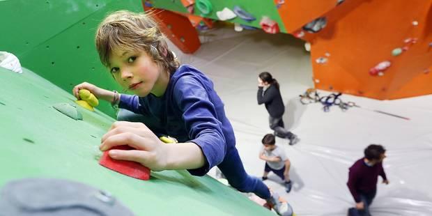 Auderghem: La salle d'escalade New Rock fait peau neuve - La DH