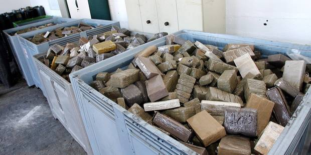 Bruxelles: faibles peines malgré les? 10 tonnes de cannabis saisies! - La DH
