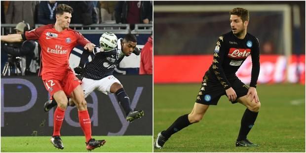 Belges à l'étranger: Meunier en finale de la Coupe de la Ligue, Mertens dans le dernier carré de la Coupe d'Italie - La ...