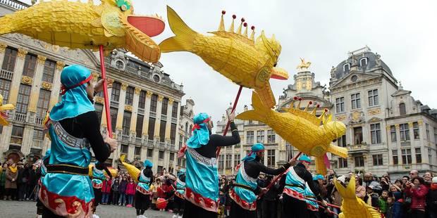 Nouvel An chinois: L'année du Coq débutera en fanfare à Bruxelles - La DH