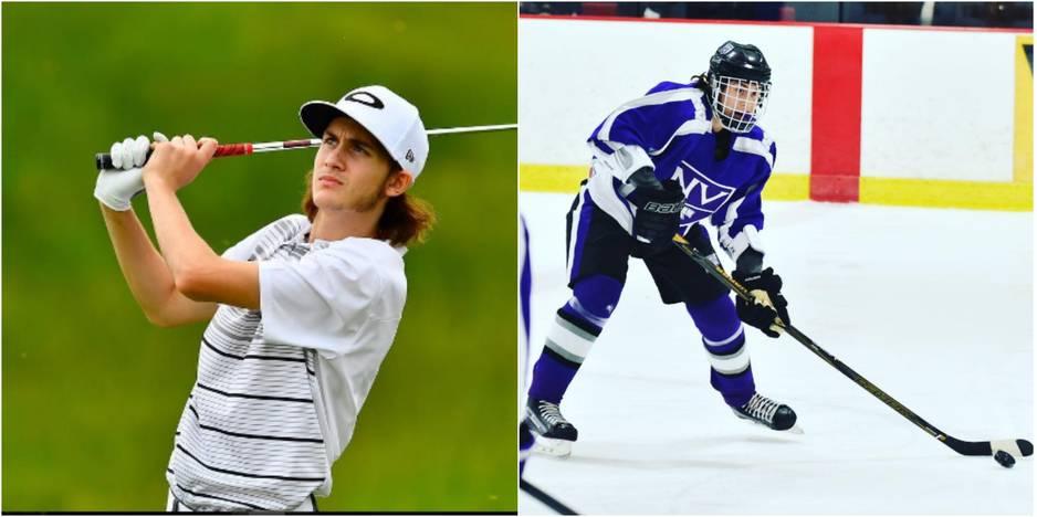 René-Charles est un grand joueur de golf, passion transmise par son père, et de hockey.