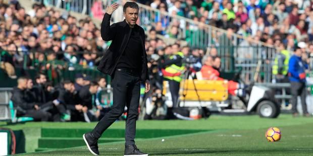 """Luis Enrique prône l'arbitrage vidéo après un but """"fantôme"""" du Barça (VIDEO) - La DH"""