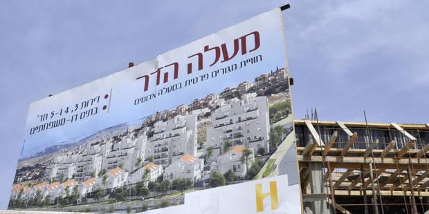 Israël annonce 3.000 logements de colonisation en Cisjordanie - La DH