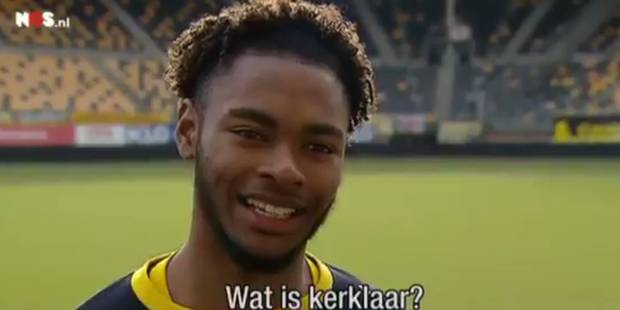 Beni Badibanga se ridiculise lors de sa présentation à Roda JC Kerkrade (VIDEO) - La DH
