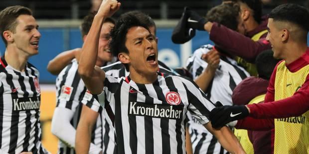 Bundesliga: Francfort reprend place sur le podium - La DH