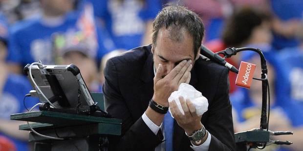 """L'arbitre blessé à l'oeil par Shapovalov s'exprime: """"Les joueurs peuvent être un peu fous de nos jours"""" - La DH"""