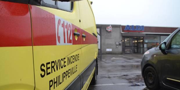 Philippeville : un braquage au Aldi et course poursuite - La DH