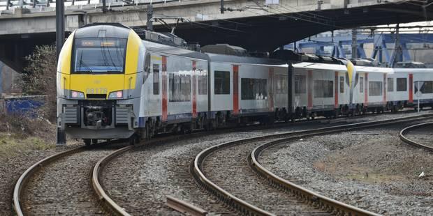 Aucun train ne circulera entre Bruxelles-Nord et Bruxelles-Midi le week-end du 1er mai - La DH